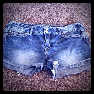 Amethyst Jean shorts!!